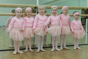 Tiny Tots Ballet Uniform